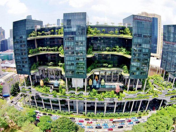 Khách sạn xanh Singapore
