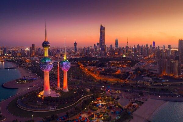 Vé máy bay đi Kuwait 2021