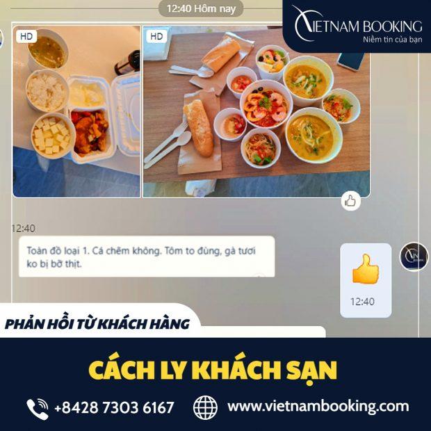 Phản hồi từ hành khách đã sử dụng combo dịch vụ cách ly tại Vietnam Booking