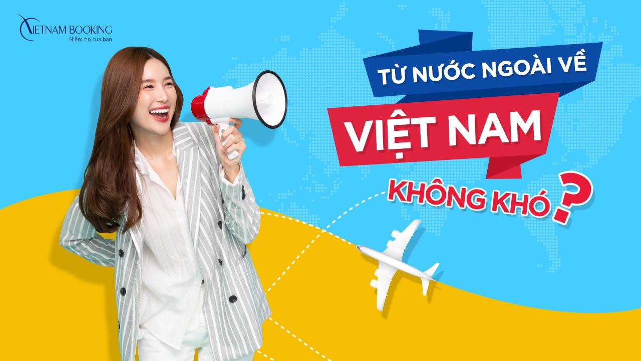 đặt vé máy bay từ Nga về Việt Nam tiết kiệm
